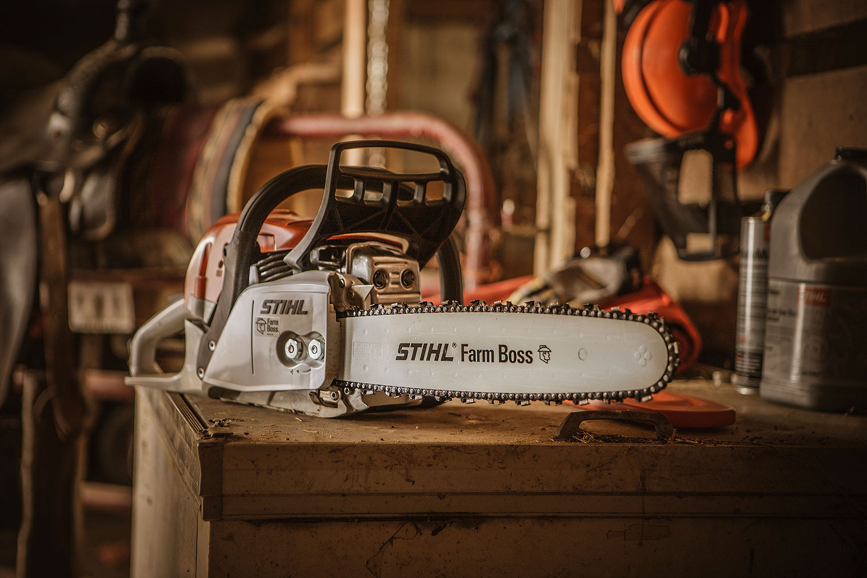 STIHL MS 271 Chainsaw  | John Fedele Product Photography