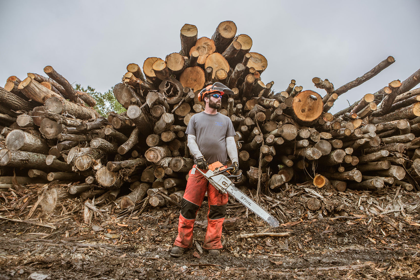 STIHL Portrait Photography | John Fedele Product Photography