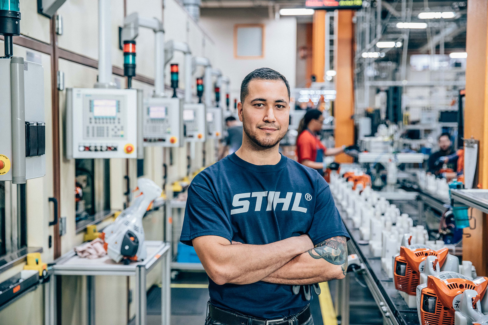 STIHL Production  | John Fedele Product Photography