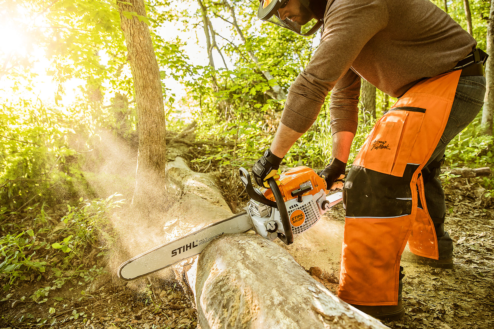 STIHL Chainsaw MS291 | John Fedele Product Photography