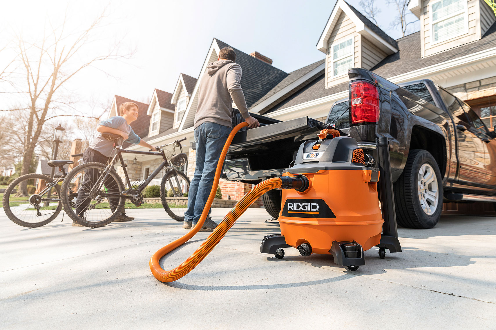 RIDGID HD1401 Wet/Dry Vacuum | John Fedele Product Photography