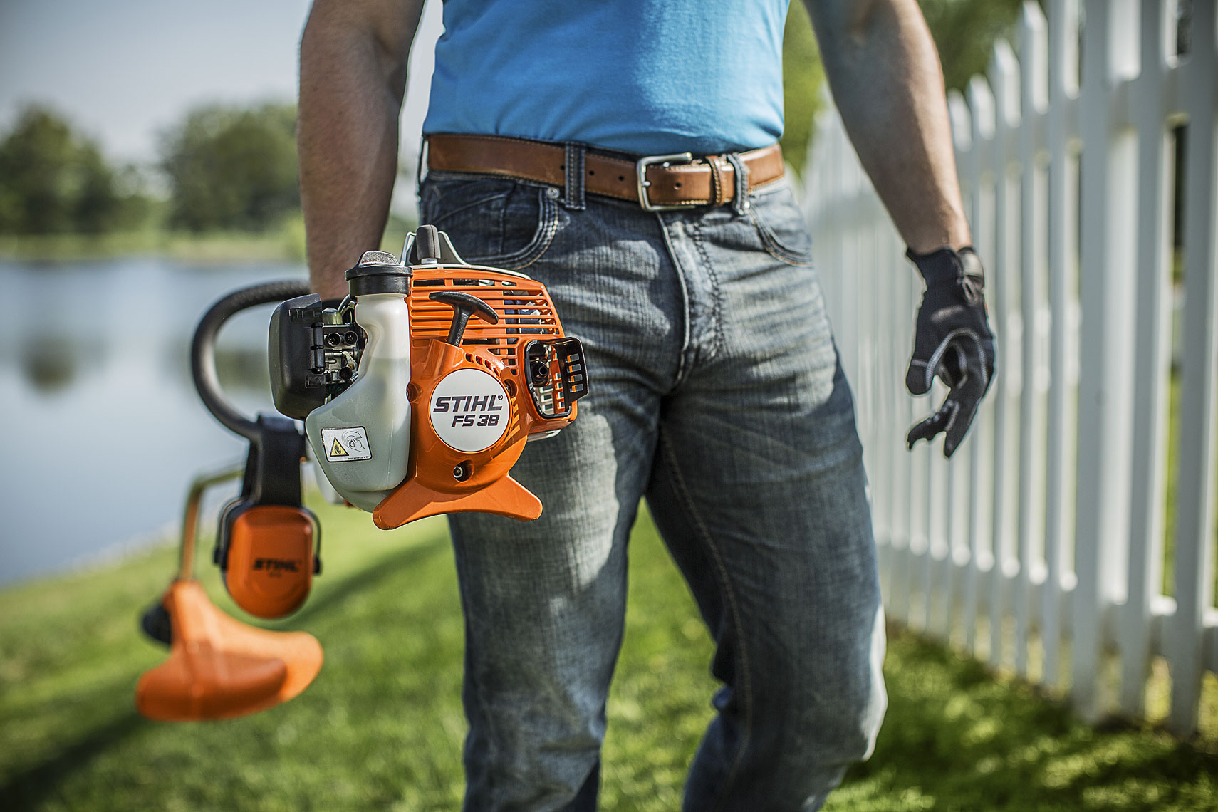 STIHL Trimmer FS 38 | John Fedele Product Photography