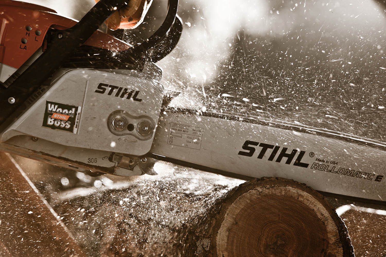 STIHL Chainsaw MS271 | John Fedele Product Photography